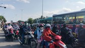 Large number of workers return to Ho Chi Minh City after Tet holiday