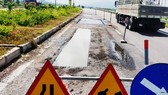 National Highway 19 badly damaged after one-year opening to traffic