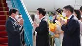 Top leader of Laos begins official friendship visit to Vietnam