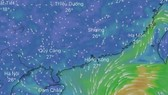 Conson, newly-formed storm heads to the East Sea