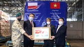 Vietnam received medical supplies from Poland