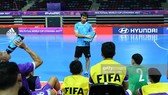 Vietnam national futsal team performs first training session
