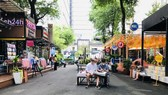 HCMC Book Street reopens after social distancing