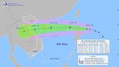 Typhoon Kompasu appears near East Sea