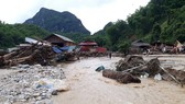 Torrential rainfall-induced landslides occur in Central region
