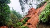 Flood-triggered landslide kills three people, leaves five missing