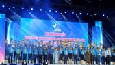 Đồng chí Võ Thị Dung, Phó Bí thư Thành ủy TPHCM, chúc mừng các đại biểu tham gia Ủy ban Hội LHTN Việt Nam TPHCM nhiệm kỳ 2019-2024