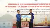 Thành đoàn TPHCM giao lưu với Đoàn thanh niên Nhân dân Cách mạng Lào