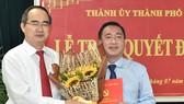 Đồng chí Phạm Thành Kiên làm Bí thư Quận ủy quận 3