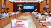 Các đại biểu tham dự hội nghị tổng kết thi đua 200 ngày của Đảng ủy Khối Dân - Chính - Đảng TPHCM. Ảnh: THU HƯỜNG