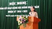 Chủ tịch HĐND TPHCM Nguyễn Thị Lệ: Chọn lọc, giới thiệu đại biểu có tâm, có tầm cho HĐND Thành phố Thủ Đức