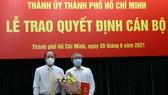 Đồng chí Phạm Quốc Huy giữ chức Bí thư Đảng ủy Tổng Công ty Cơ khí Giao thông vận tải Sài Gòn-TNHH MTV