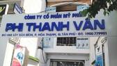 Trụ sở Công ty TNHH TM DV Phi Thanh Vân