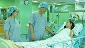 Bệnh nhân hồi phục sức khỏe sau ca phẫu thuật