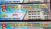Thu hồi toàn bộ vé số nghĩa tình tại Bệnh viện Mắt TPHCM