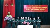 Lễ ký kết bàn giao nguyên trạng Bệnh viện dã chiến cấp 2.1 trực thuộc Bệnh viện Quân y 175 về Cục Gìn giữ hòa bình Việt Nam