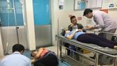 Các bệnh nhân đang được điều trị và theo dõi tại Bệnh viện quận Tân Phú