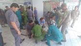 Hệ thống Code Grey được báo động toàn bệnh viện, đến cơ quan công an và Sở Y tế