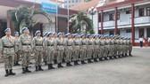 Thành viên Bệnh viện Dã chiến cấp 2 số 3 sẵn sàng lên đường làm nhiệm vụ