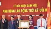 Bệnh viện Nhân dân 115  đón nhận danh hiệu Anh hùng Lao động thời kỳ đổi mới