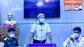 Thứ trưởng Bộ Y tế Nguyễn Trường Sơn phát biểu tại đầu cầu văn phòng đại diện Bộ Y tế