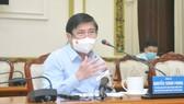Chủ tịch UBND TPHCM Nguyễn Thành Phong phát biểu. Ảnh: CAO THĂNG