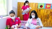 TPHCM: Khánh thành trung tâm chăm sóc trẻ sơ sinh có mẹ mắc Covid-19