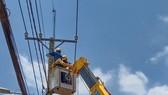 Hoàn thành công trình điện cho giai đoạn 3 của Bệnh viện bệnh lý hô hấp cấp tính ở huyện Củ Chi