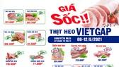 Sagrifood giảm giá thịt heo VietGAP lên đến 40%