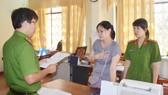 Công an tỉnh Quảng Ngãi ra quyết định cấm ra khỏi nơi cư trú đối với bà Hà