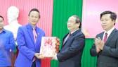 Đoàn thanh niên tỉnh Champasak và tỉnh Khammuane thăm tỉnh Quảng Ngãi