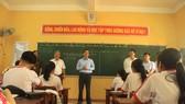 Quảng Ngãi: Kiểm tra công tác phòng dịch Covid-19 ở trường học