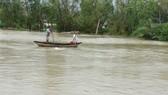 Quảng Ngãi: Lũ đang lên trên sông Trà Câu, khẩn cấp di dời dân