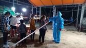 Xuyên ngày đêm tại chốt kiểm tra y tế phòng Covid-19 tại nơi ra vào cửa ngõ Quảng Ngãi