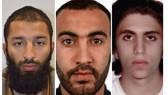Ảnh 3 nghi phạm Khuram Shazad Butt, Rachid Redouane và Youssef Zaghba (từ trái sang) do Cảnh sát London công bố  