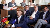 Modric tại phiên tòa.