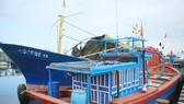 Các hạng mục hư hỏng chủ yếu là tời, bơm thủy lực, con lăn,…các chủ tàu tự khắc phục, bảo dưỡng. Ảnh: Nguyễn Trang
