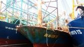 Nhiều tàu vỏ thép đóng theo NĐ-67 của ngư dân Bình Định bị rỉ sét, phải nằm bờ chờ sửa chữa