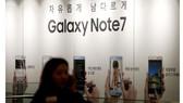 Samsung tung ra thị trường điện thoại Galaxy Note 7 tân trang
