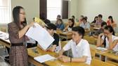 Thí sinh dự thi vào Trường ĐH Luật TPHCM