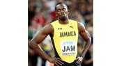Sự thất vọng của Usain Bolt.