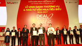 SonKim Land nhận giải thưởng Thương vụ Bất động sản tiêu biểu nhất Việt Nam 2016-2017