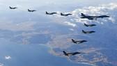 Máy bay ném bom siêu thanh Mỹ qua Hàn Quốc tập trận