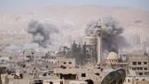 Nga bác cáo buộc của Mỹ về việc quân đội Syria sử dụng vũ khí hóa học ở Douma