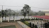 Cần Giờ mưa to, gió giật mạnh, phà Bình Khánh phải hoạt động để cấp cứu bệnh nhân
