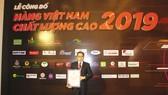 Ông Ni Chih Hao tại Lễ vinh danh các doanh nghiệp HVNCLC 2019