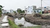 Dự án nạo vét, kiên cố hóa rạch Sơ Rơ, quận 12. Ảnh: hcmcpv