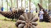 Không gian nghệ thuật trong rừng - Cơ hội của ngành điêu khắc