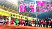 Đội tuyển Việt Nam tạo ra sức lôi cuốn mạnh mẽ người hâm mộ bóng đá nước nhà. Ảnh: DŨNG PHƯƠNG