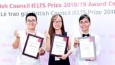 Những sinh viên Việt nhận được học bổng IELTS Prize.